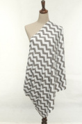 Infinity Nursing / Breastfeeding Scarf by nGenius, 100% Cotton
