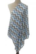 Infinity Nursing / Breastfeeding Scarf by nGenius, 100% Cotton