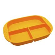 Kinderville Little Bites Divided Plates - Orange