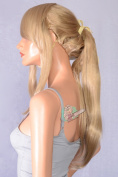 Epic Cosplay Ash Blonde Pre-Styled Ponytail Wig