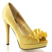Fabulicious Women's Lumina42 Peep Toe Fashion Pumps