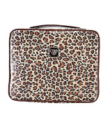 PurseN Diva Make Up Case - Leopard/Brown