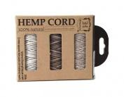 Hemptique Hemp Cord 3 Spool Boxed Set - Dune