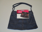 Child's Blue Jean Purse to Embellish