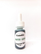 Liquid Candle Dye (Hunter Green) - 30ml Dropper Bottle with Childproof Lid Premium Dye for All Waxes Exp Soy Wax