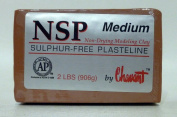 Chavant NSP MEDIUM - 0.9kg. Professional Oil Based Sulphur Free Sculpting Clay