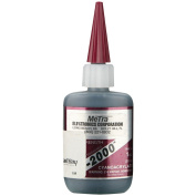 instal BAY IC-2000 Instant Rubber Tough Black Glue, 30ml