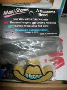 Maxi-Shapes Macrame Bead Large Sombrero