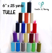 EXCLUSIVE SALES 20 Rolls 15cm X 25 yds Tulle
