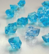 Dashington® Bright Blue, 0.5kg Bag, Translucent Acrylic Gems, Ice Rocks, for Table Scatter, Vase Filler, Aquarium Decor