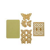 Anna Griffin® CuttlebugTM Butterfly Cut & Emboss Dies 5-piece Set