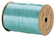 EGP Pearlized Wraphia Robin's Egg Blue Ribbon 1/4x100 Yds