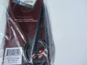 Kollage Square Circular 40-inch (101cm) Knitting Needle Soft Cable; Size US 10