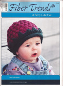 A Berry Cute Hat - Fibre Trends Knitting Pattern CH-9