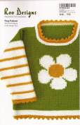Roo Designs Child's Posy Pullover Picot Edge Knitting Pattern