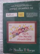 Angels Sing Stamped Cross Stitch Kit