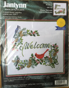 "Janlynn Embroidery ""Winter Welcome"""