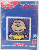 J & P Coats 'Happy Charlie Brown' Peanuts 50th Anniv. Latch Hook Kit #25083