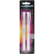 Uni-Ball Impact Gel Pen 2/Pkg-White