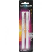 Uni-Ball Impact Gel Pen 2/Pkg-White
