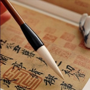 Exquisite Traditional Chinese Calligraphy Goat Hair Brush Pen Small Size A Grade