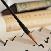 High Quality Chinese Calligraphy Pure Wolf Hair Brush Pen Solid Wood Stick A Grade