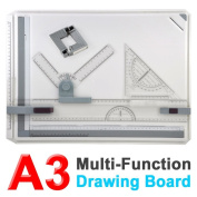 Yosoo Pro Quality A3 Drawing Board Table with Parallel Motion and Adjustable Angle