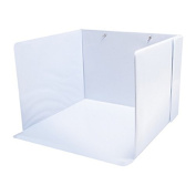 Cosmo Cricket Splatter Cubby, 36cm x 25cm , Vinyl Coated, White