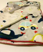 Cars Baby Blanket Reversible