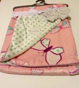Baby Blanket Butterflies Reversible