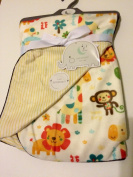 Safari Baby Blanket Reversable
