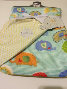 Baby Blanket Elephant Parade Reversible