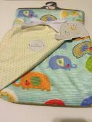 Baby Blanket Elephant Parade Reversible