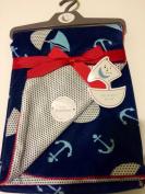 Baby Blanket Sailing Reversable