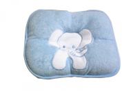 KingWinX Soft Baby Pillow, Blue Elephant