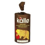 Organic Thick Savoury Rice Cakes (Kallo) 110g by Kallo