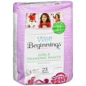 Well Beginnings Premium Training Pants Girl, 3T-4T 23 ea