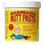 Boudreaux's Butt Paste Nappy Rash Ointment Jar -- 470ml