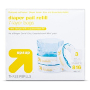 up & up Pail Liners - 3pk - 816 ct total