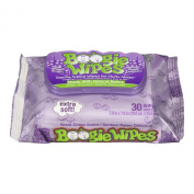 Boogie Wipes Saline Nose Wipes, Great Grape, 30-Count