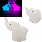 Phoneix 1 Pc Lovely Elephant Shape Home Party Decor Night Light Beautiful Charming