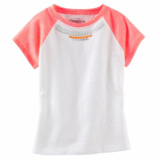 OshKosh Baby Girls Embellished Raglan Tee