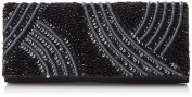 La Regale Tribal Matte and Shine Clutch