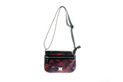 STYLE & CO. NEW MULITCOLOR PRINTED PASSPORT CROSSBODY BAG OSFA $30 DBFL