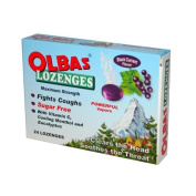 Olbas Lozenges Sugar-free Black Currant - 24 Lozenges - Case Of 12
