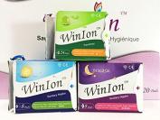 Winalite Winion Day Use Night Use Pantiliner Sanitary Napkin