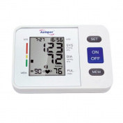 Jumper Automatic Digital Upper Arm Blood Pressure Monitor Heartbeat Detector