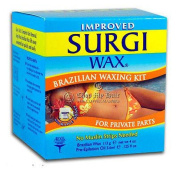 Surgi Hard Wax Brazilian Hair Remover NO Strips Needed 120ml/ 113 grma