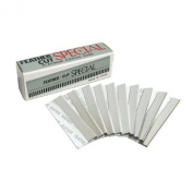 Feather Swan Styling Razor 10 Standard Replacement Blades for Hair Razors Made in Japan