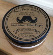 Body Prescriptions Shaving CReam, Clean Citron Scented, 200ml,
